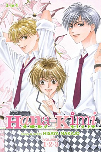 Hana-Kimi (3-in-1 Edition) cover