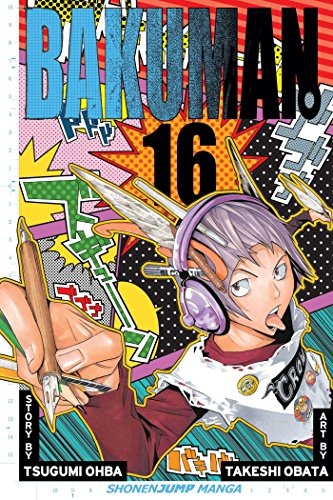 Bakuman Book 16 cover