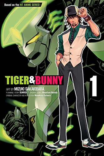 Tiger & Bunny Volume 1 cover