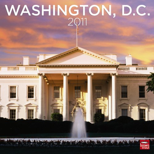 2011 Washington, D.C. Square Wall Calendar