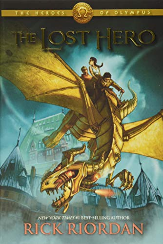 The Lost Hero (Heroes of Olympus, Book 1), Riordan, Rick