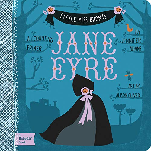 Little Miss Bronte: Jane Eyre Board Book Counting Primer