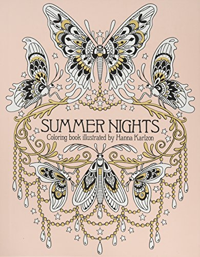"""Summer Nights Coloring Book: Originally Published in Sweden as """"Sommarnatt"""" (Daydream Coloring Series)"""