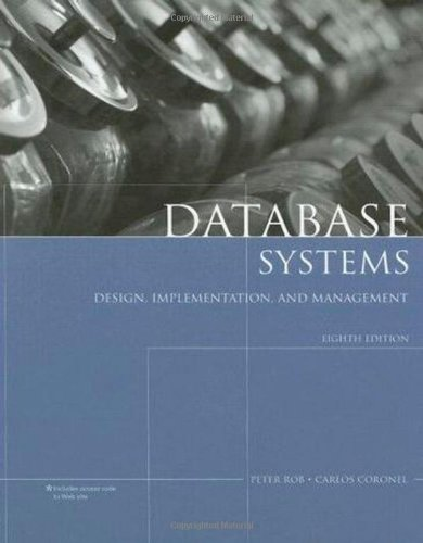 PDF Database Systems Design Implementation and Management