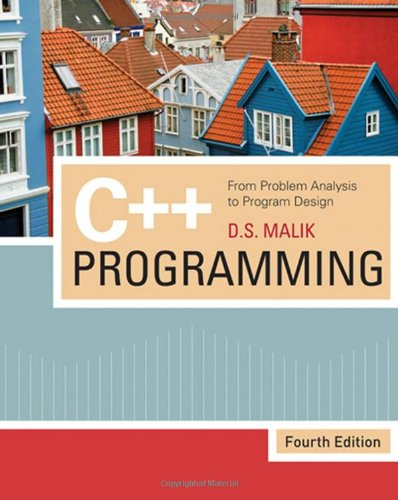 PDF C Programming From Problem Analysis to Program Design Fourth Edition
