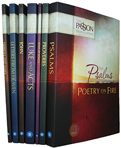 The Passion Translation Set of 7, Brian Simmons