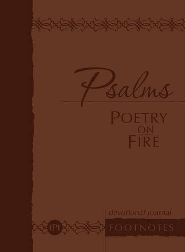 Psalms Poetry on Fire: Devotional Journal Footnotes (The Passion Translation), Simmons, Brian