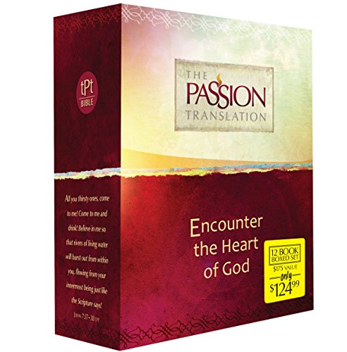 The Passion Translation 12-in-1 Collection: Encounter the Heart of God, Simmons, Brian