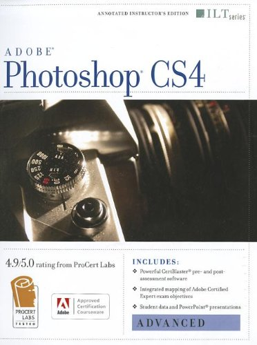 Photoshop Cs4: Advanced, Ace Edition + Certblaster (ILT) - Axzo Press