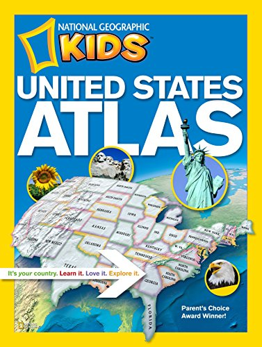 National Geographic Kids United States Atlas - National Geographic