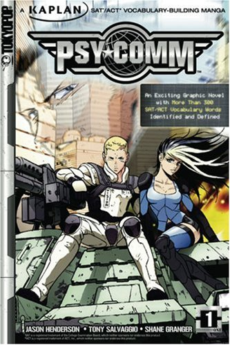 Psy-Comm, Volume 1: Kaplan SAT/ACT Vocabulary-Building Manga