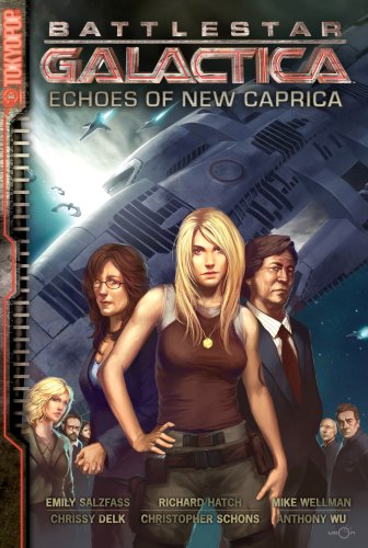 Battlestar Galactica: Echoes of New Caprica cover