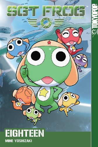 Sgt. Frog Book 18 cover