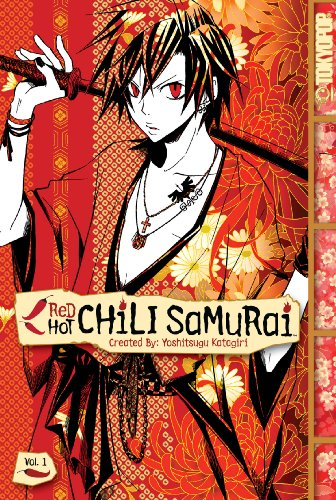 Red Hot Chili Samurai Book 1 cover