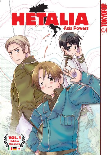 Hetalia Book 1 cover