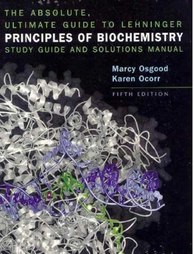 Books ebooks gems resource guide guides at dahlgren memorial the absolute ultimate guide to lehninger principles of biochemistry study guide and solutions manual by osgood marcy fandeluxe Choice Image