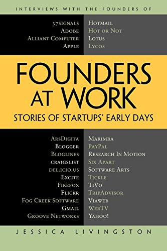 Founders at Work: Stories of Startups