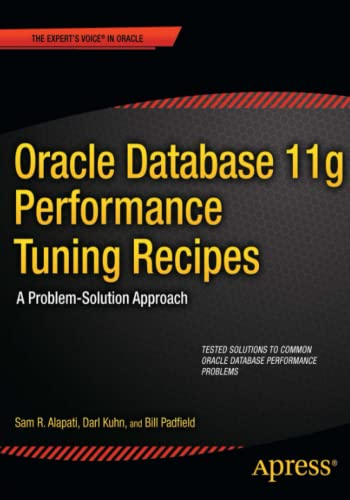 PDF Oracle Database 11g Performance Tuning Recipes A Problem Solution Approach Expert s Voice in Oracle