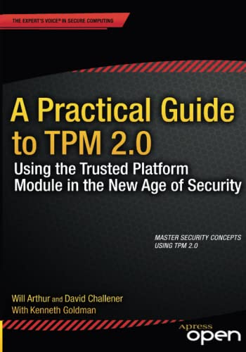 PDF A Practical Guide to TPM 2 0 Using the Trusted Platform Module in the New Age of Security