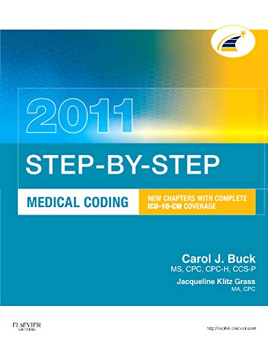 2011 STEP BY STEP MEDICAL CODING**