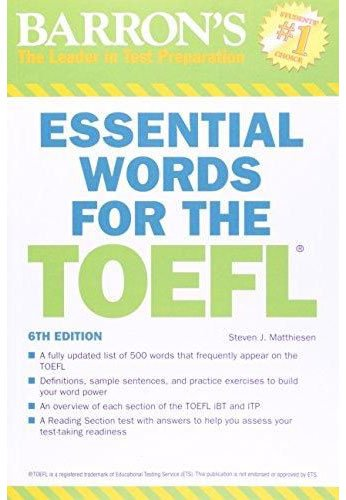 toefl test of english as a foreign language esl