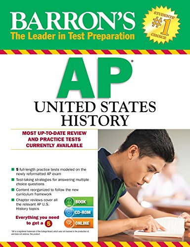Barron's AP United States History with CD-ROM, 3rd Edition - Eugene Resnick