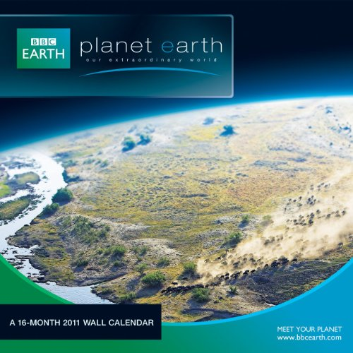 Planet Earth 2011 Wall Calendar