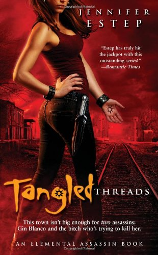 Tangled Threads (Elemental Assassin, Book 4)