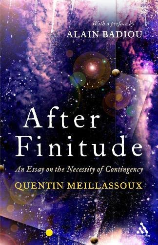 After Finitude Book Cover Picture