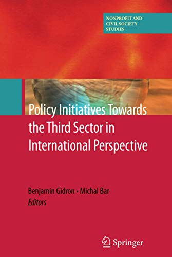 PDF Policy Initiatives Towards the Third Sector in International Perspective Nonprofit and Civil Society Studies