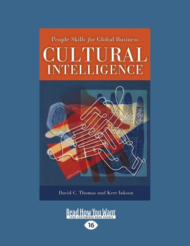 Cultural Intelligence: People Skills for Global Business