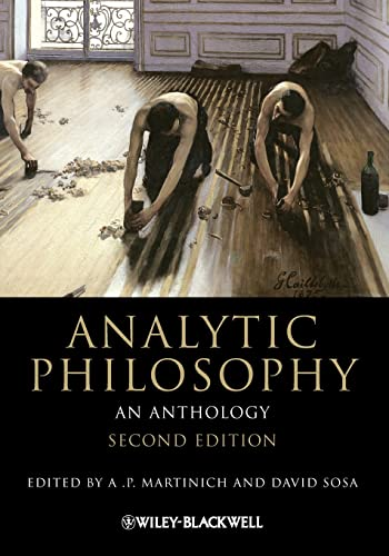 Analytic Philosophy: An Anthology Book Cover Picture