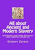Ancient and Modern Slavery (2 vos + cdrom)