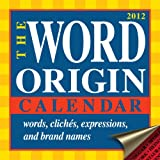 Buy The Word Origin 2012 Day-to-Day Calendar
