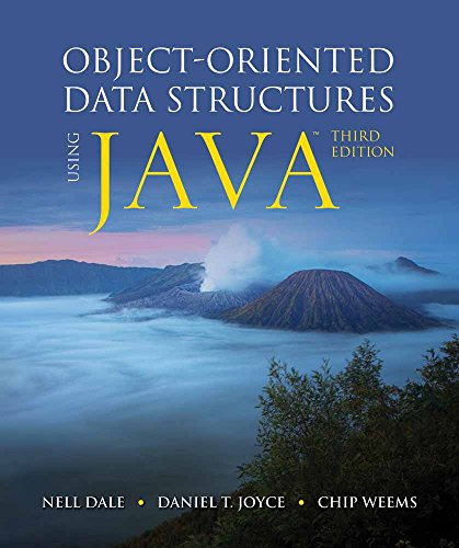 Object-Oriented Data Structures Using Java - Nell Dale, Daniel T. Joyce, Chip Weems