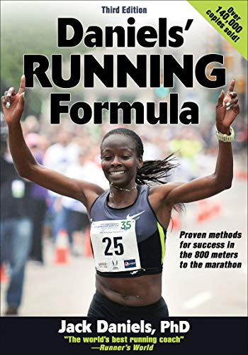 Daniels' Running Formula Book Cover Picture