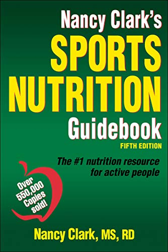 Nancy Clark's Sports Nutrition Guidebook Book Cover Picture