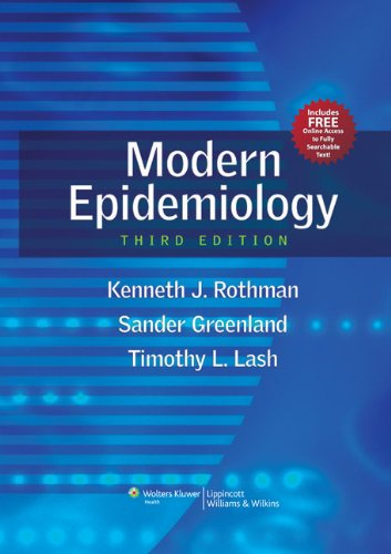 MODERN EPIDEMIOLOGY, MID-CYCLE REVISION, 3/ED.
