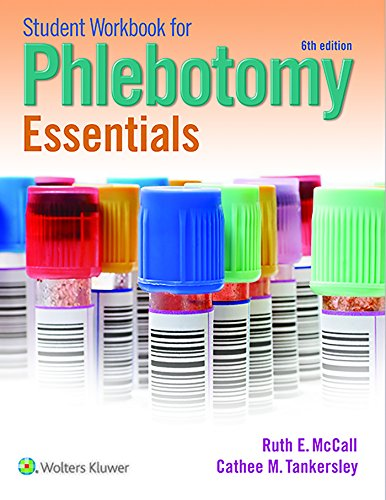 STUDENT WORKBOOK FOR PHLEBOTOMY ESSENTIALS, 6E (PB)