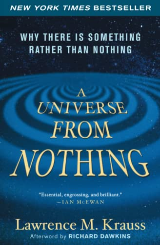 A Universe from Nothing Book Cover Picture
