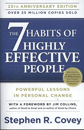2. The 7 Habits of Highly Effective People – Stephen Covey; Stephen Covey