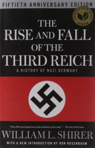 The Rise and Fall of the Third Reich Book Cover Picture