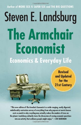 The Armchair Economist Book Cover Picture