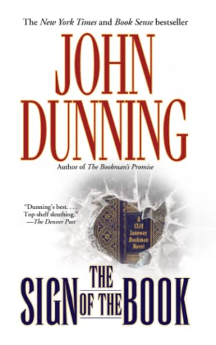The Sign of the Book (Cliff Janeway Novels), Dunning, John