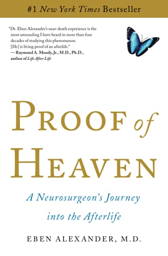 "book cover for ""Proof of Heaven"" by Dr. Eben Alexander"