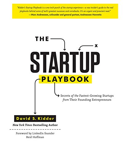 The Startup Playbook Book Cover Picture