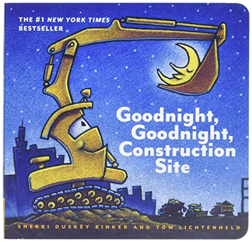 Read Now Goodnight, Goodnight Construction Site (Board Book for Toddlers, Children s Board Book)
