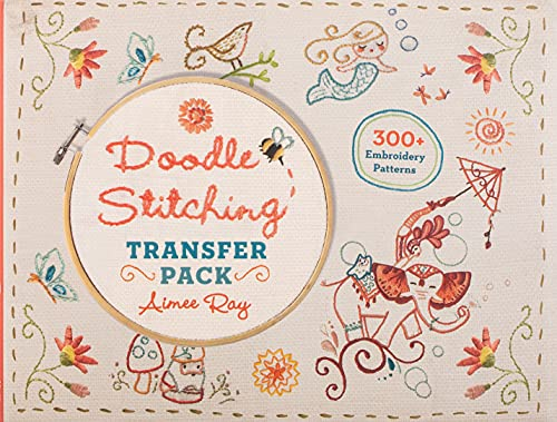 Doodle Stitching Transfer Pack, Ray, Aimee