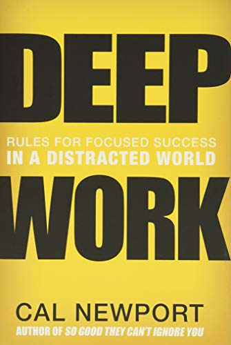 Deep Work Book Cover Picture