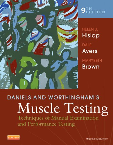 Daniels and Worthingham's Muscle Testing: Techniques of Manual Examination and Performance Testing, 9e (Daniels & Worthington's Muscle Testing (Hislop)) - Helen Hislop PhD ScD FAPTA, Dale Avers PT DPT PhD, Marybeth Brown PT PhD FACSM FAPTA